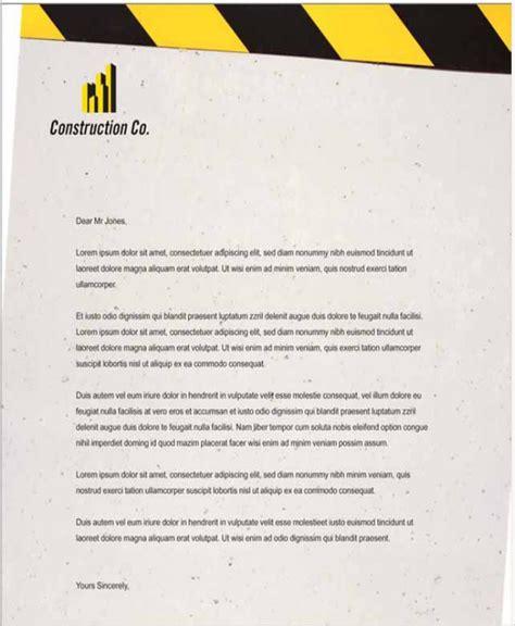 company letterhead templates word  premium