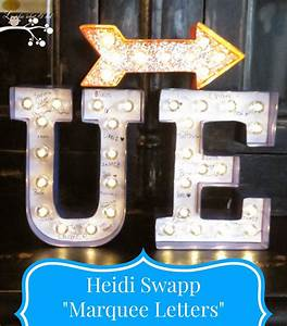 lookie what i did heidi swapp marquee letters With michaels marquee letters