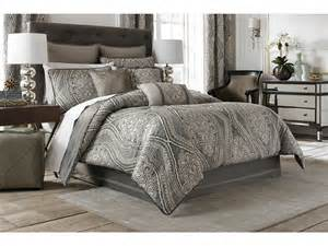 croscill amadeo comforter set queen smoke zappos com free shipping both ways