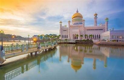Brunei Darussalam Ali Sultan Omar Mosque Saifuddin