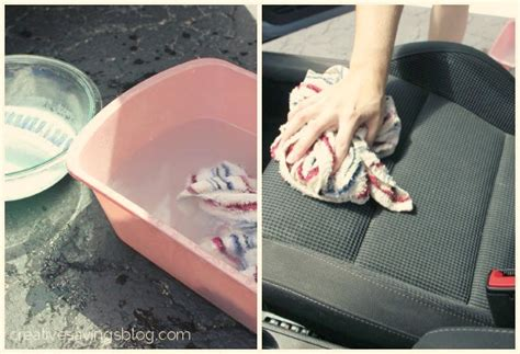 Cleaning Upholstery Diy by Diy Car Upholstery Cleaner Creative Savings