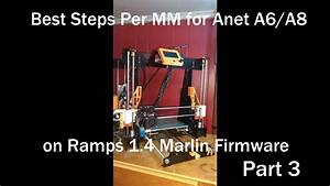 Anet A8 Marlin Instructions