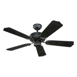 ceiling fan without light in matte black finish 5wf42bk