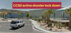 TODAY: CCSD SCHOOL HIDES ACTIVE SHOOTER LOCK DOWN FROM ...