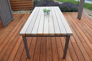 Forst und holz dienstleistungen tisch lounge for Outdoor tisch