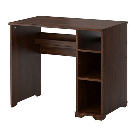 Ikea Borgsjo Corner Desk by Borgsj 214 Desk Brown Ikea