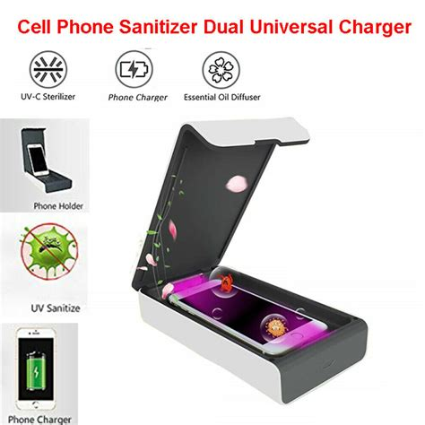 Multifunctional Cell Phone Sanitizer Smartphone Charger