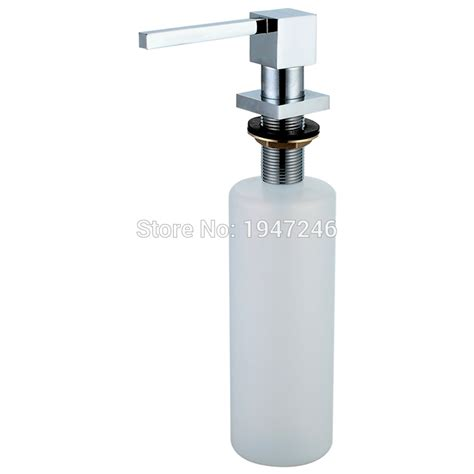 built in sink soap dispenser 100 solid brass high quality built in deck mount pump