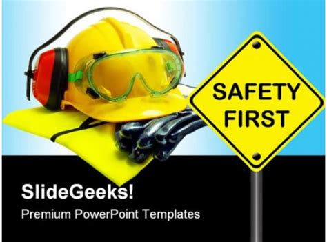 safety  construction powerpoint backgrounds