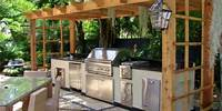 building outdoor kitchen 10 Outdoor Kitchen Plans-Turn Your Backyard Into Entertainment Zone – Home and Gardening Ideas ...