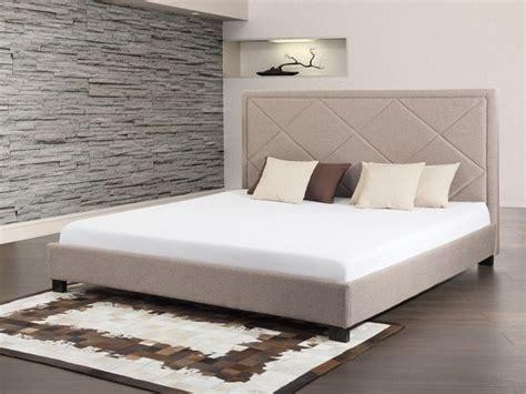 twee persoons bed bol bed beige tweepersoonsbed 160x200 cm stoffen