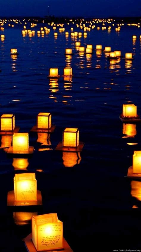 floating lights wallpapers photography wallpapers desktop background