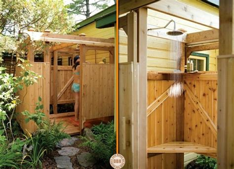 Building An Outdoor Bathroom 17 Best Images About Outdoor Showers On