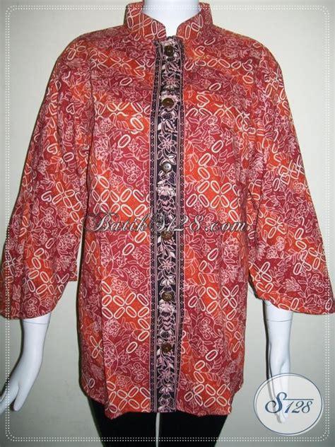 baju batik ukuran jumbo  wanita gemuk blscg xxl