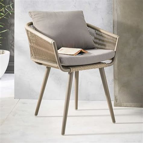 twisted dining chair west elm teak outdoor furniture