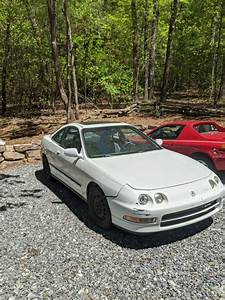 1994 Acura Integra Hatchback White Fwd Automatic Ls For