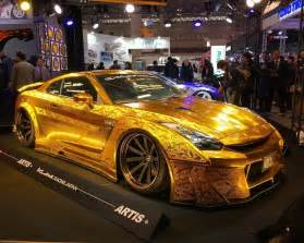 gold nissan car kuhl gtr allgoldeverything kuhlracing gold r35