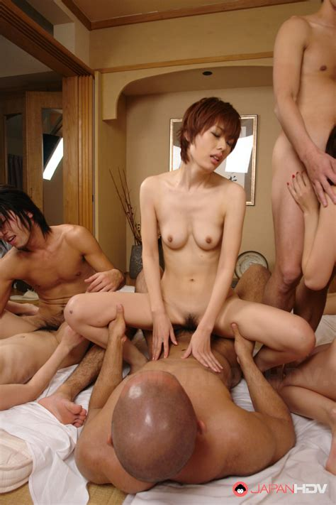 Hot Girls And Lads In Hot Orgy In Hotel Room