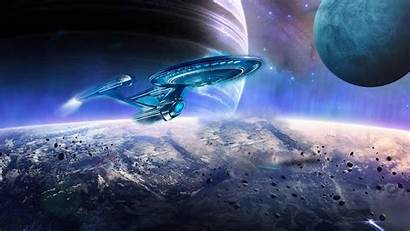 Flying Saucer Universe War Defence Planets Galaxy