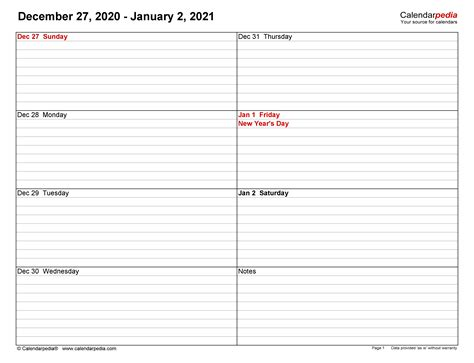 View Free Printable Weekly Calendar With Time Slots 2021  Gif