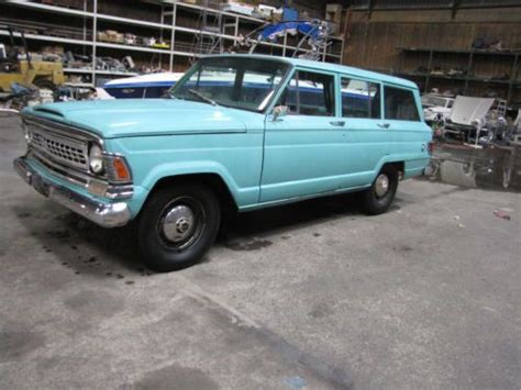1970 jeep grand wagoneer sell new 1970 jeep wagoneer exceptionally clean no rust