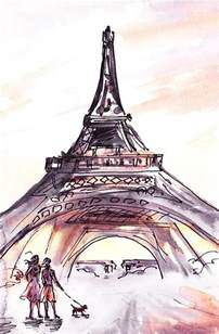 eiffel tower table 40 most beautiful and detailed eiffel tower drawings