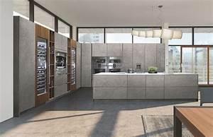 Facade De Cuisine Les Différents Matériaux : cuisine les mat riaux tendance c t maison ~ Melissatoandfro.com Idées de Décoration