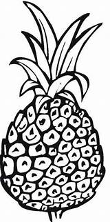 Pineapple Coloring Pages Printable Print Outline Spongebob Template Getcoloringpages Getdrawings Drawing Bestcoloringpagesforkids sketch template