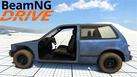 Beamng Drive Alpha  Ibishu Covet Stripped Youtube