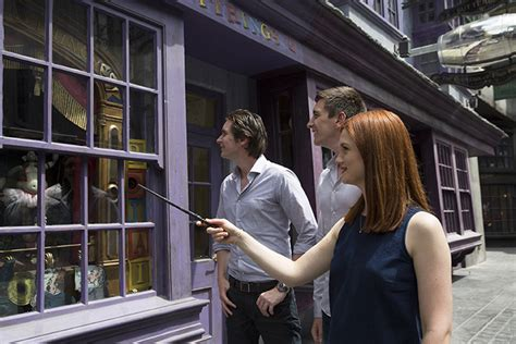 Halloween Horror Nights Theme 2014 by Universal Orlando Close Up Interactive Wands At The