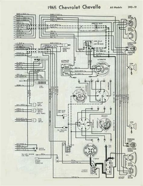 69 Chevelle Wiring Schematic by Help Need Wiring Diagram For 65 Chevy Malibu Chevelle Tech