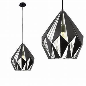 Pendelleuchte Schwarz Silber : pendelleuchte carlton trend design schwarz innen silber ~ Lateststills.com Haus und Dekorationen