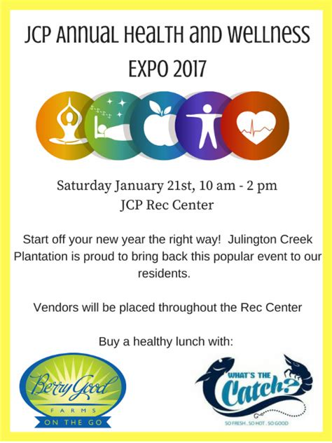 Jcp Annual Health And Wellness Expo