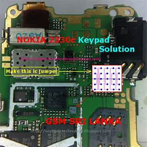 Nokia 2330c Keypad Solution