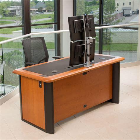 best desk for multiple monitors best multi monitor computer desk best computer desk for