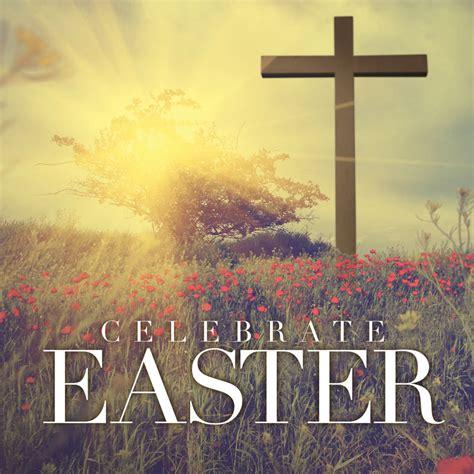 celebrate easter cross banner church banners outreach