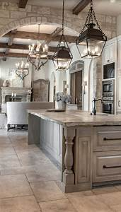 Distressed, Kitchen, Cabinets, In, Antique, Series
