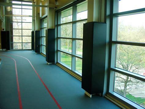 Custom Column Gym Wall Pads   Corner Gym Wall Pads