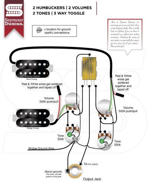Wiring Diagrams Seymour Duncan Guitar