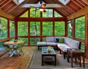 Great Wooden Material Sun Room Desaign Natural Various Recommended Traditional And Vintage Sunroom Designs