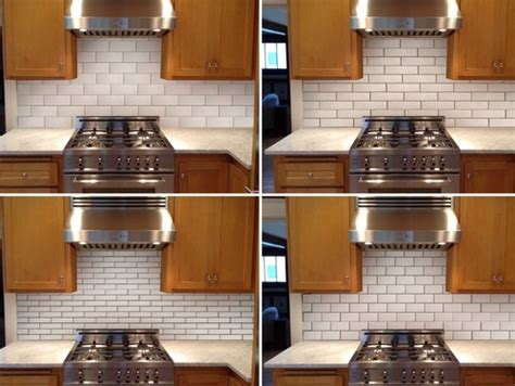 tiled kitchen backsplash pictures subway tile layout and size 6195