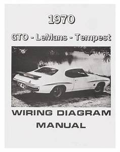 Manual  Wiring Diagram  1970 Pontiac Gto