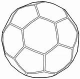 Ball Soccer Outline Coloring Pages Cool Sports Template Wecoloringpage Clip Printable Pokemon Print Sheets Star Easter Read Barbie sketch template