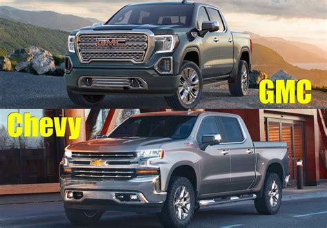 2019 Gmc Sierra Or 2019 Chevy Silverado? Which One Do You