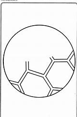 Soccer Printable Balls Ball Coloring Cliparts Pages Computer Designs sketch template