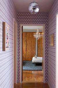 Papier Peint Pour Couloir : choisir un papier peint de couloir original ~ Melissatoandfro.com Idées de Décoration