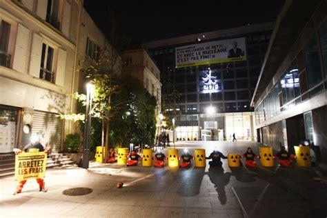siege social edf greenpeace bloque le siège d edf et appelle la