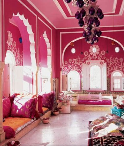 deco chambre indienne un salon au style indien une décoration colorée à base