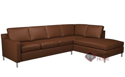 Leather Loveseat With Chaise by Soho Leather Sleeper Sofas Chaise Sectional By Lazar