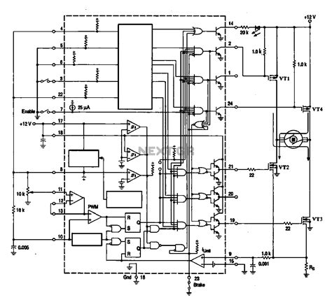 Dc Brush Motor Wiring Diagram by Brushless Dc Motor Driver Circuit Diagram Impremedia Net